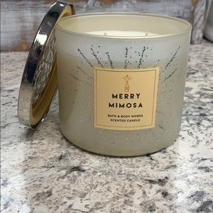 Merry Mimosa 3 wick candle